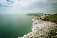 The edge of England (row.box) Tags: anticline artois beachyhead birlinggap chalk cliff dover edge england europe france geology kent sea seafordhead sevensisters sussexnorthdowns uk unitedkingdom whitecliffs boat cretaceous flint sky southdowns