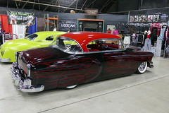 1954 Chevrolet (bballchico) Tags: 1954 chevrolet custom deadsledscc genemedina flames hardtop gnrs2018 carshow suedepalace