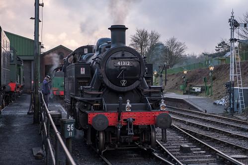 British Railways Ivatt 2MT - 41312