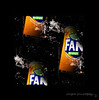 Fanta.......stic! (PAUL YORKE-DUNNE) Tags: tins can splash water fizzy drink