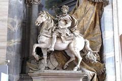 ROMA - BASILICA DE SAN PEDRO - ESTATUA ECUESTRE DE CARLOMAGNO (mflinera) Tags: roma italia ciudad del vaticano basilica de san pedro estatua escultura carlomagno arte