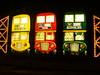 Blackpool Illuminations (divnic) Tags: blackpoolilluminations blackpool england lancashire northernengland northwestengland fylde cleveleys people beach irishsea sea water reflections bus lights illuminations
