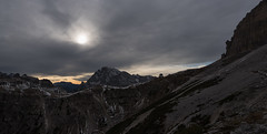 Sunset Pano (MrBlackSun) Tags: trecime dreizinnen lavaredo italia italy nationalpark nikond810 nikon d810 sunset panorama pano