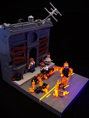 The Guilty Shall Suffer... (Tigmon74) Tags: moc marvel comics ghost rider lego