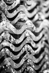 glass wave (primemundo) Tags: dogwood dogwood2018 negativespace waves wave curve monochrome glass corrugated