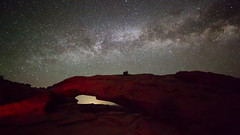 Red Arch Under the Stars (Ken Krach Photography) Tags: mesaarch