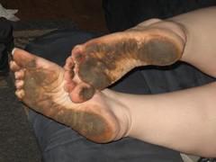 2258598930098220273vvGEIn_ph (paulswentkowski1983) Tags: dirty feet soles pitch black street filthy female calloused