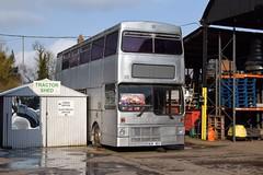 Ex West Midlands BOK86V (MCW1987) Tags: bok86v 2086 wmpte mcw metrobus mk1 travel west midlands