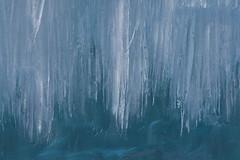 Glace (Patrice StG) Tags: québec winter hiver shore rivage ice glace stlaurent stlawrence stlawrenceriver fleuve fleuvestlaurent blue bleu sigma18300 gimp pentax pentaxart kp