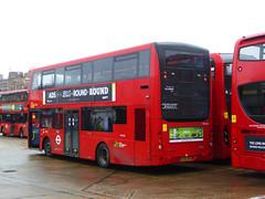 GAL MHV34 - BG66MKA - NSR - PM PECKHAM BUS GARAGE - THUR 15TH MAR 2018 (Bexleybus) Tags: goahead go ahead london pm peckham bus garage blackpool road mcv evoseti mhv34 bg66mka