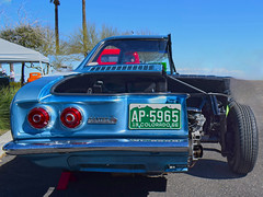 Only Half as Unsafe at any Speed (oybay©) Tags: chevrolet corvair car automobile unsafeatanyspeed cool glendale arizona vehicle pikespeakcorvairclub corvairclub colorado surprise unique unusual half halve split weird