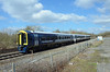 SWR 159007, Berkeley Road Jn (sgp_rail) Tags: swr swt south west western rail railway class 159 159007 refurbished new colour blue silver berkeley road jn junction glos gloucestershire dursley train trainspotting nikon d7000 spring 2018 march dmu diesel multiple unit livery