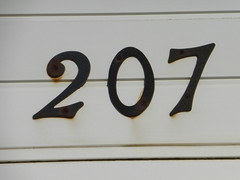 207 nine number (Andy M Johnson) Tags: nine