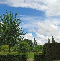 Sissinghurst Castle and Garden - Where Beauty Lies Around Every Corner! (antonychammond) Tags: sissinghurst sissinghurstcastlegarden nationaltrust wealdofkent vitasackvillewest haroldnicolson garden trees hedge sky clouds england contactgroups saariysqualitypictures