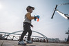 Portrait of a baby boy playing bubble wand (Yinjia Pan) Tags: 23years abundance brics bridgebuiltstructure bubble bubblewand chinaeastasia huangpuriver lupubridge onebabyboyonly oneperson portrait riverbank shanghai soapdispenser soapsud activity babyclothing blackhair carefree casualclothing cheerful child childhood chineseethnicity curiosity cute discovery domesticlife enjoyment exploration happiness joy leisureactivity lifestyles playful playing relaxation sideview simpleliving toy walking