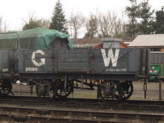 IMG_8226 - GWR Open Wagon 25190 (SVREnthusiast) Tags: severnvalleyrailway svr severnvalley severn valley railway
