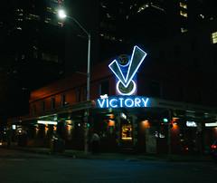 The Vic (Nathan Anthony West) Tags: fujifilm x100 night brisbane