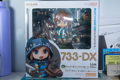 DSC_7723 (Quantum Stalker) Tags: nintendo breath wild switch link figure nendoroid deluxe dx weapons sheikah slate accesories bow arrow axe hood