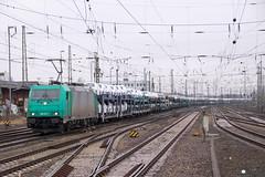 """185 611 """"Hectorrail"""" mit ARS Altmann - 23.03.2018 - Bremen Hbf (D) (Frederik L.) Tags: db bahn zug eisenbahn traxx lok lokomotive baureihe 185 hectorrail privatbahn bahnhof bremen ars altmann güterzug transport rail"""