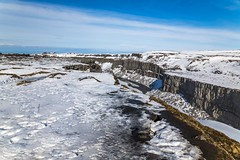 Jokulsargljufur Iceland (Einar Schioth) Tags: jokulsargljufur jökulsá jokulsaafjollum jokulsarthjodgardur downtown dettifoss winter water waterfall sky snow sunshine sun day canon clouds cloud cliff canyon vividstriking blusky nationalgeographic ngc nature landscape photo picture outdoor iceland ísland ice einarschioth
