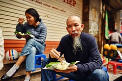 Ho Chi Minh's brother (snowpine) Tags: people street streetphotography streetportrait candid vietnam hanoi beard
