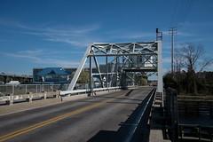 DSC_5337 (Copy) (pandjt) Tags: roadtrip unitedstates usa southcarolina northmyrtlebeach northmyrtlebeachsc littleriverswingbridge swingbridge littleriver bridge intracoastalwaterway littleriversc