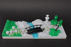 Lego zen garden - atana studio (Anthony SÉJOURNÉ) Tags: lego zen garden japan afol moc creator atana studio anthony séjourné