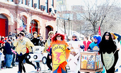 Chiditarod 2018 (kirstiecat) Tags: chicagochiditarodurban chicago chiditarod urbanitdarod shoppingcartraces costumes people chicagoans barcart ukrainianvillage wickerpark fun charity event