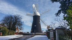 Holgate Windmill after snow, February 2018 - 08