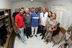 É sempre um grande prazer participar das reuniões no município de Natividade, região do Noroeste Fluminense do Rio de Janeiro. Dessa vez quem nos abriu a porta da sua aconchegante casa foi a dona Eliane Maria.