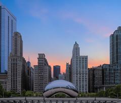 The Bean - Chicago (Darren LoPrinzi) Tags: 5d canon5d chicago urban canon chitown city miii cityscape skyline thebean bean landmark iconic sunrise millenniumpark michiganave buildings skyscrapers thechi reflection