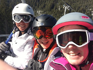 Selfie on the piste