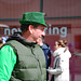 Faces of St. Patrick's Day Parade: man in various shades of green