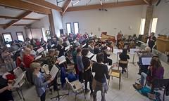 Ensemble (incomplet) Colla Parte & Le Madrigal de Nîmes dirigés par Muriel Burst - IMG_4659 (6franc6) Tags: clavecin occitanie languedoc gard 30 mars 2018 madrigal madrigaldenîmes concert musique chorale choeur orchestre 6franc6 collaparte canon1022