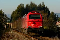 TK 6005 (Nelso M. Silva) Tags: vossloh euro 4000 diesel locomotive takargo linha minho mercadorias comboio sgnss