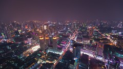 Bangkok skyline (qonebe) Tags: canon 6d thailand asia bangkok city rooftop skyline nightscape travel