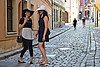 (Roi.C) Tags: people women street candid prettywoman beautifulwoman urban bratislava slovakia europe nikond5300 nikkor nikon hdr outdoor talking walking smile