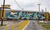 (o texano) Tags: houston texas graffiti trains freights bench benching smek wholecar