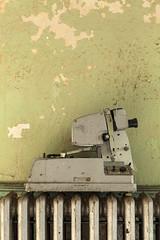 projection of sorts. (stevenbley) Tags: abandoned decay urbex urbanexploration newyork ny hospital psychiatriccenter psychiatric canon5dmarkii rot rust peelingpaint guerillahistorian asylum graffiti urbandecay