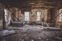 Brownsville Hospital - PA (justinsphotog) Tags: abandoned abandonedplaces abandonjunkies canon decay urbanex urban urbex uu urbandecay urbandexploring uer pa tresspassing pennsylvania