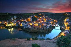 Staithes Sunset (hapulcu) Tags: greatbritain unitedkingdom angleterre britain buttermere cumbria england gb herbst inghilterra inglaterra staithes uk yorkshire automne autumn autunno høst otoño toamna