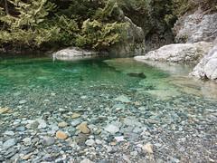 Stones being skipped across Lynn Creek (D70) Tags: stones being skipped across lynn creek clear cool water upperlynn britishcolumbia canada sony dscrx100m5 ƒ28 88mm 180 125