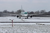 EI-LBT Boring 757-2Q8 Aer Lingus turning onto Runway 10 at Dublin Airport 28th February 2018 (Conor O'Flaherty) Tags: eilbt boeing 757 757200 7572q8 aerlingus asl shamrock snow winter beastfromtheeast stormemma dublinairport eidw dub dublin airport aviation jet pratt pw2040 ireland takeoff plane runway
