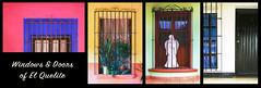 windows & doors of el quelite - pt 2 (rockinmonique) Tags: doors window collage colour elquelite sinaloa mexico iron moniquew canon canont6s tamron tamron45mm copyright2018moniquewphotography
