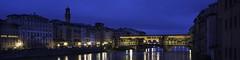 Ponte Vecchio from Ponte Santa Trinita at dawn 3- (jdl1963) Tags: travel europe italy florence tuscanny firenze ponte vecchio bridge river arno dawn morning blue hour