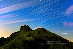茶壺星空 (湯小米) Tags: ef 1635mm f28 l 1dx canon star startail 夜景 星空 星軌 無耳茶壺山 金水九