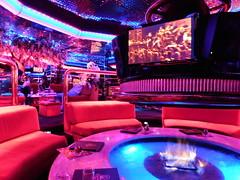 DSCN0638 (f l a m i n g o) Tags: lasvegas vegas peppermill lounge restaurant fireside purple pink blue orange birthday september 6th 2017 celebration