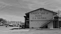 Political Expression in Globe, Arizona (tvdflickr) Tags: politics building wall painted message arizona globe