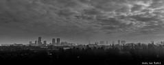 Rotterdam skyline (-+Niels+-) Tags: rotterdam thenetherlands holland bw noiretblanc skyline city zwartwit canon70d landscape cityscape view urban