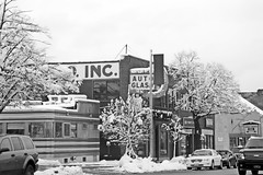 After the Storm: Albany Drive About - Jack's Diner (Adventure George) Tags: acdseepro albany albanycounty americancity city march nature newyorkstate newyorkstatecapital nikond750 northamerica outdoor photogeorge photoshoot snow snowstorm upstatenewyork urban urbanscene us usa weather winter winterscene newyork unitedstatesofamerica blackandwhite bw monochrome winterstorm quinn jacksdiner 1948comac smallbusiness